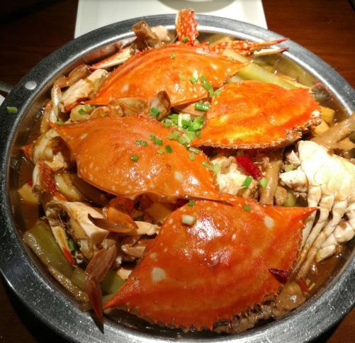 馋胖肉蟹煲
