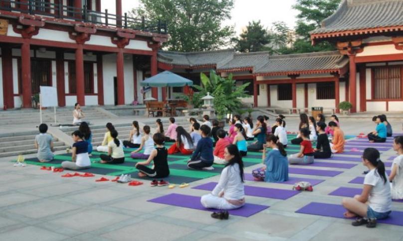 西安映月瑜伽加盟