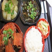 百碗香排骨米饭