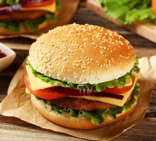 肯德麥漢堡