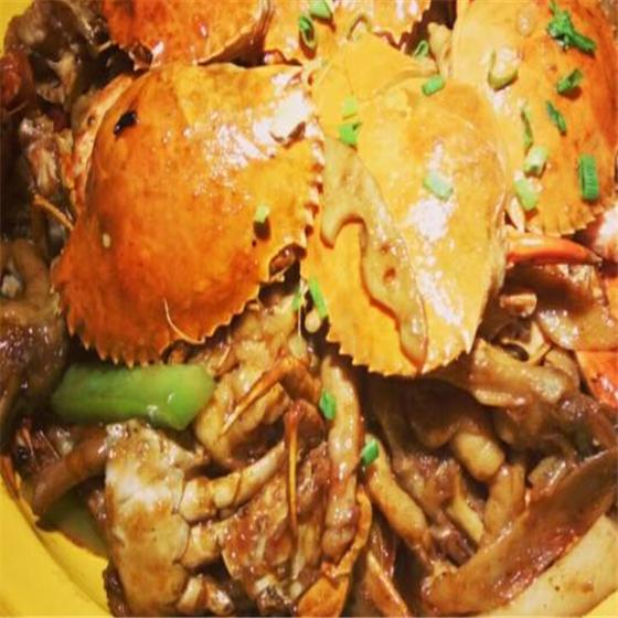 胖水 手肉蟹煲