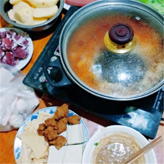 川湘捞喷泉火锅
