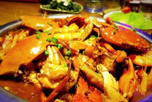 天虹肉蟹煲