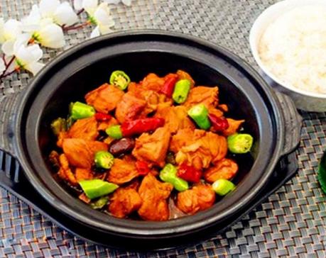 老程記黃燜雞米飯