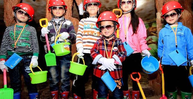 奇趣家儿童职业体验馆加盟