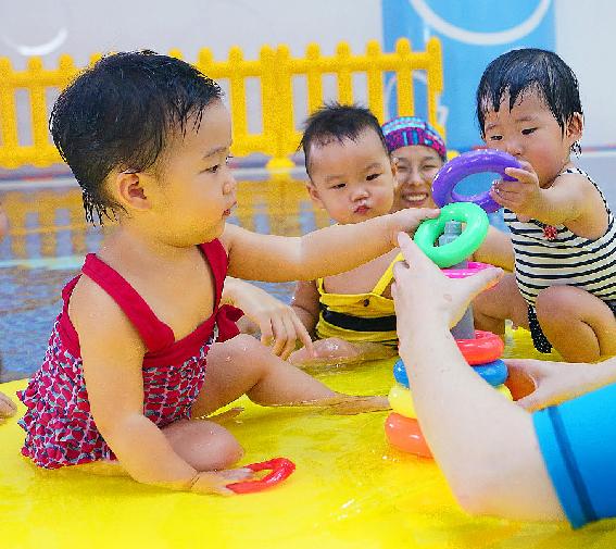 藍旗嬰幼親子游泳館